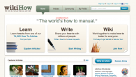 wikiHow is a collaborative website that allows users to build and share the world's largest, highest quality how-to manual.